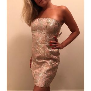 Forever 21 Foil Style Party Dress